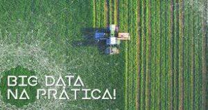 Campo com Big data Agro