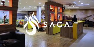 Logomarca da SAGA