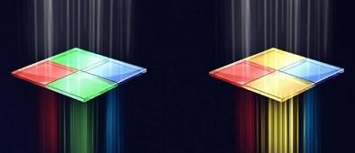 Mosaico de imagem da Huawei