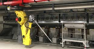 Robô Valmet para indústria papeleira
