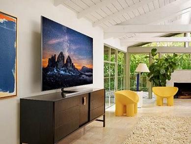 QLED TVs Samsung na sala