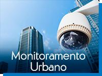Câmera monitoramento urbano