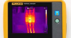 um dos termovisores da Fluke