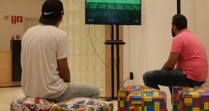 Campeonato de Games no Shopping