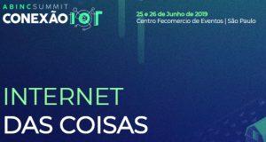 Banner do evento sobre Internet das Coisas
