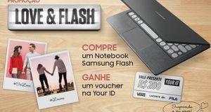 Banner oferta do Samsung Flash