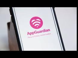 Smartphone com  AppGuardian
