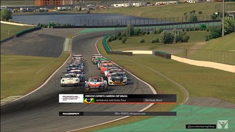 Volta de apresentação Porsche eSports Carrera