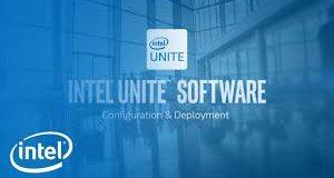 Banner do Intel Unite