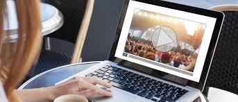 Notebook com vídeo on demand