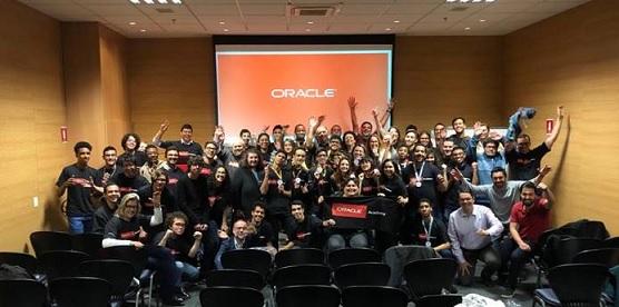Alunos premiados pela Oracle