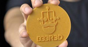 Bolacha de chopp impressão 3D - B33R3D