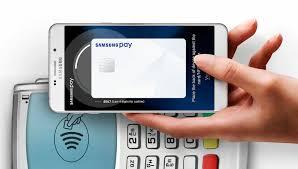 Celular com Samsung pay