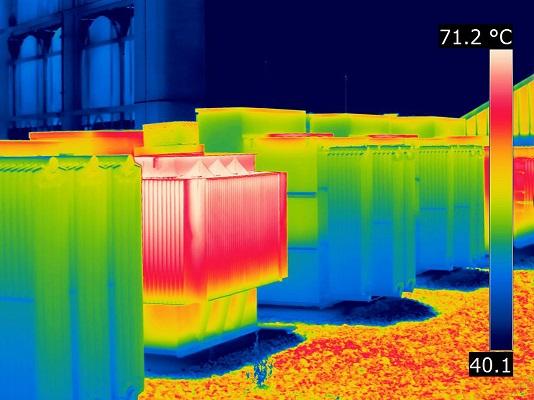Imagem termográfica