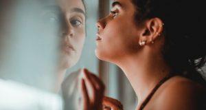fotógrafa foto no espelho