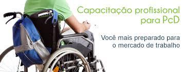 Cadeirante capacitação de PCDs