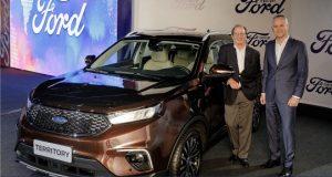 Ford Territory e um Watters amigo do Brasil