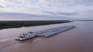 Hidrovia graneleira Rio Tocantins
