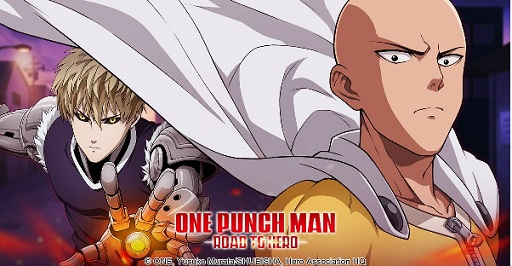Cens do game One Punch Man