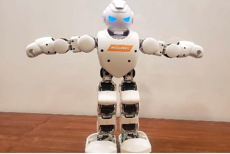 IA MidiaTek em controle de robôs
