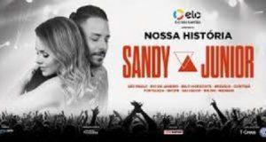 Sandi e Jr no serviço brasileiro de streaming