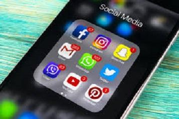conectado a redes sociais