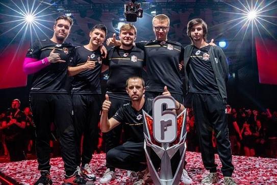 Team Empire equipe Rainbow Six