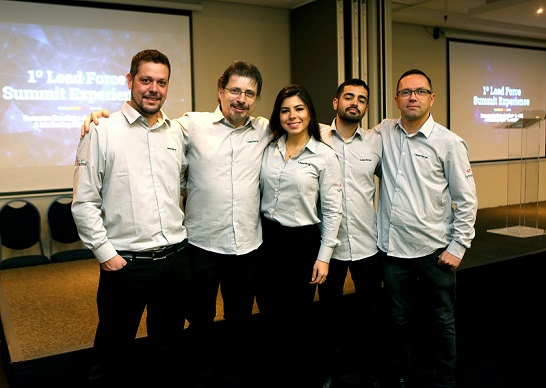Equipe Lead Force no evento