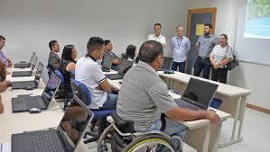 Trinamento cadeirantes PCDs