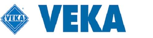 Logomarca Veka expondo na High design
