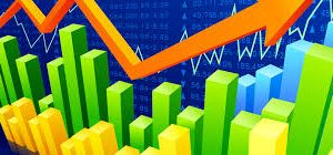 Vetor de crescimento com crypto agilidade