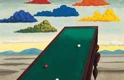 mesa snooker Man Ray