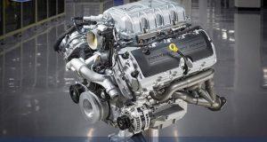 Motor Mustang shelby GT500