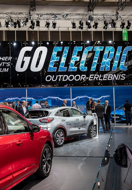 Go Ford  veículos elétricos Ford