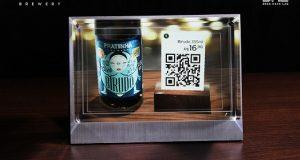 Holografia criada no Beer Hack Lab da Pratinha