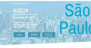 Evento de startups O WiSE24 em São Paulo