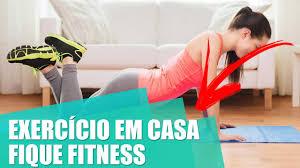 exercícios em casa fitness