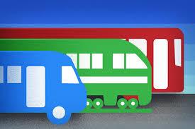 ônibus representando gestão de vale transporte