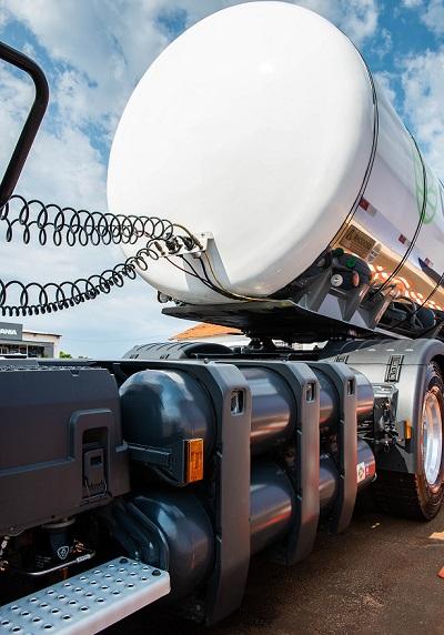 Tanques de gás GNV ou biometano