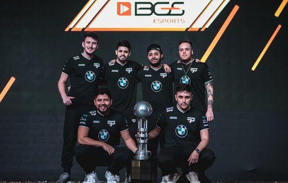Equipe vencedora Counter Strike GO na BGS