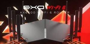 DIR-X6060 roteador com o Wi-Fi 6