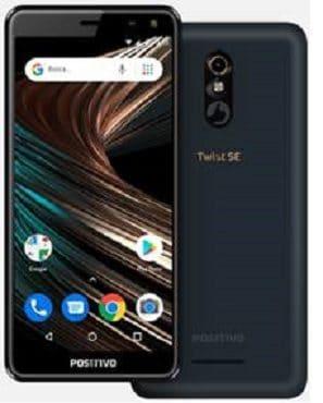 O smartphone Positivo Twist SE