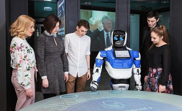 robôs de serviço autônomos