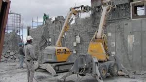 robôs na construção