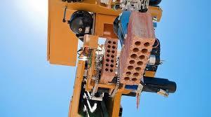 robôs na construção civil