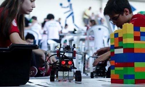 Festival de robótica escola
