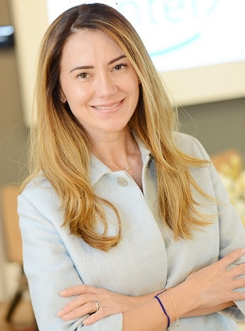 Giselle a nova diretora da Intel Brasil