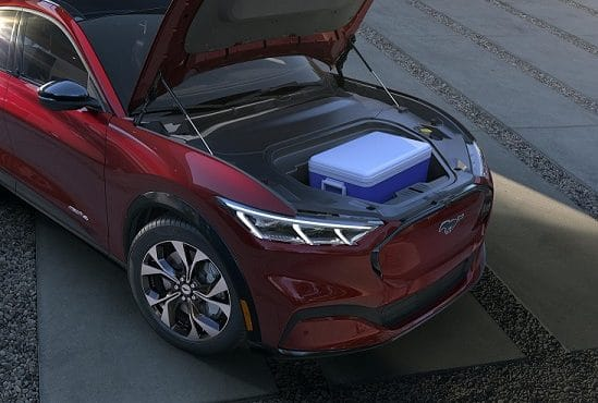 Frente Mustang Mach-E elétrico