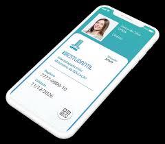 Smrtphone com carteirinha digital