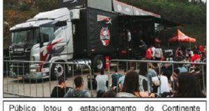Caminhão RED Truck HyperX Kalunga